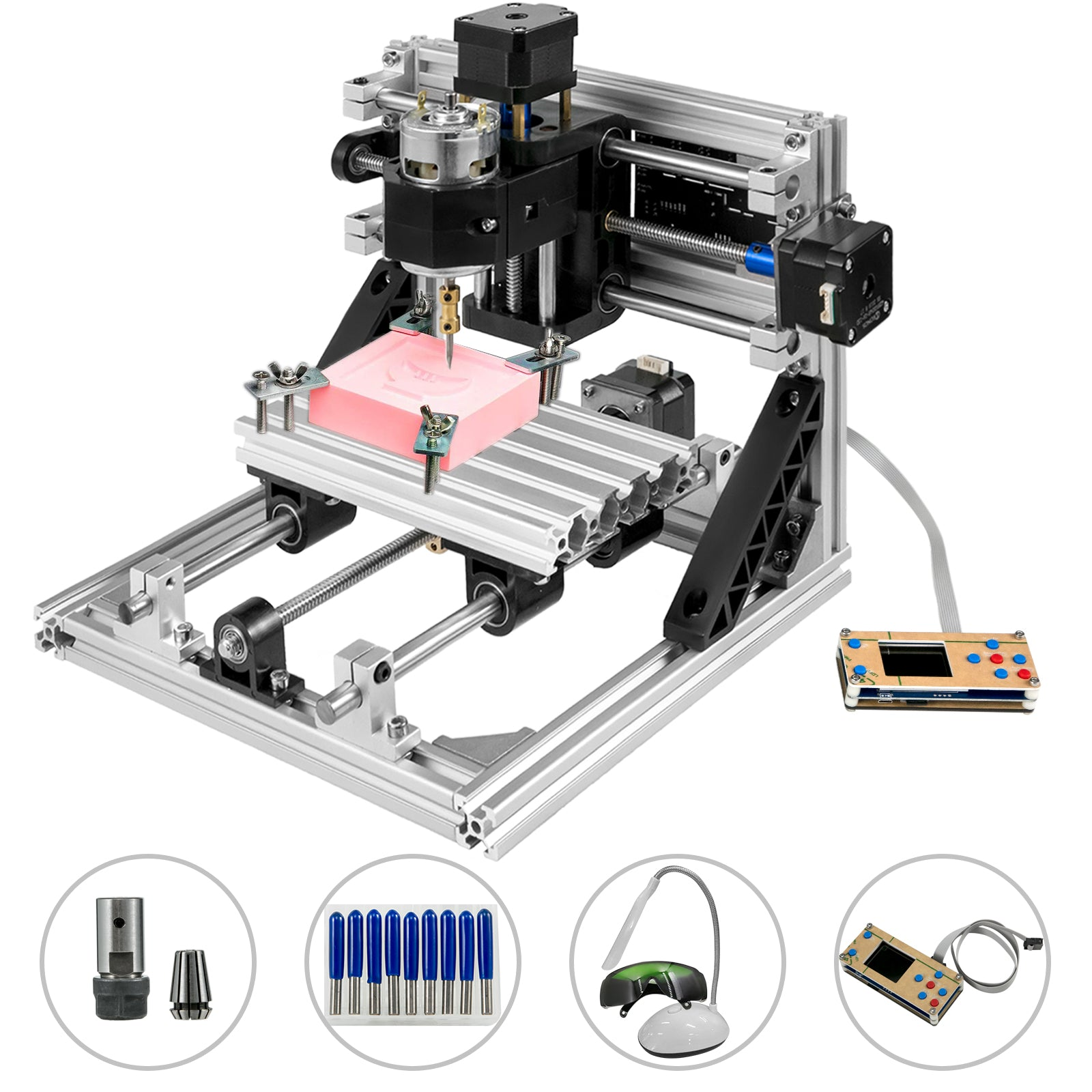 3 Axis Cnc Router 1610 With Offline Controller Engraver Machine Wood Plastic Pvc