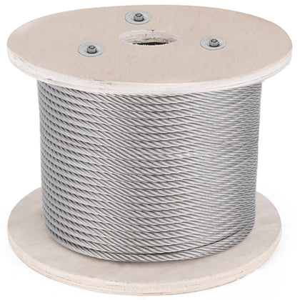 T316 Stainless Steel Cable Wire Rope,1/4