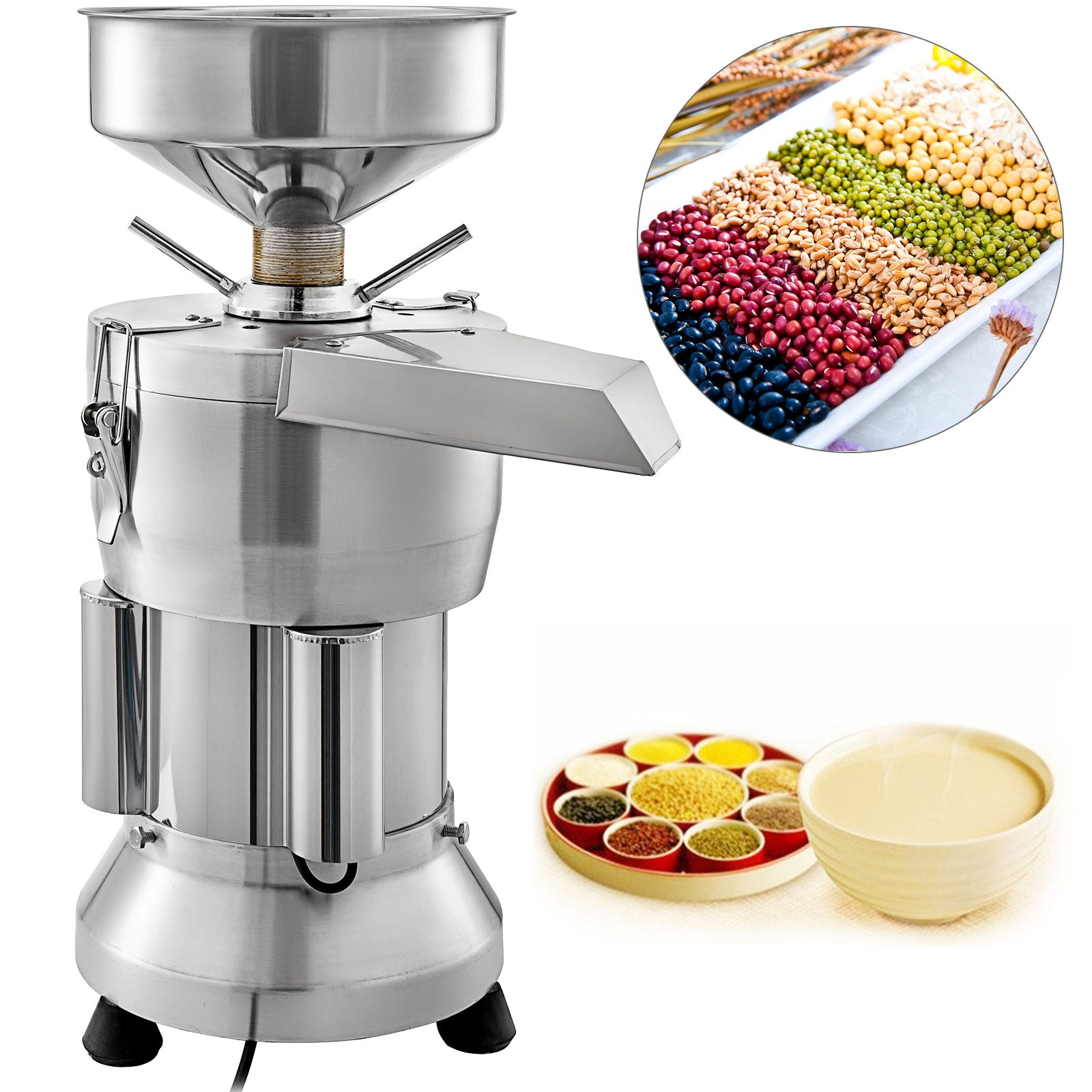 Soybean Grinding Machine Soymilk Machine Soy Bean Pulping Milk 70kg/h 1800w