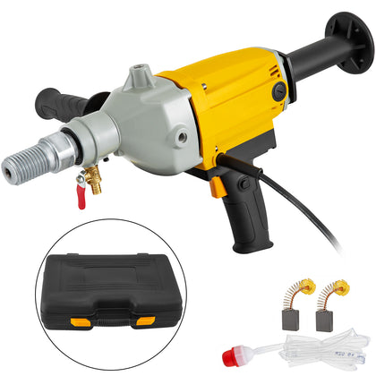 5in Diamond Core Drill 130mm Handheld Concrete Coring Drill Machine 2180w W/case