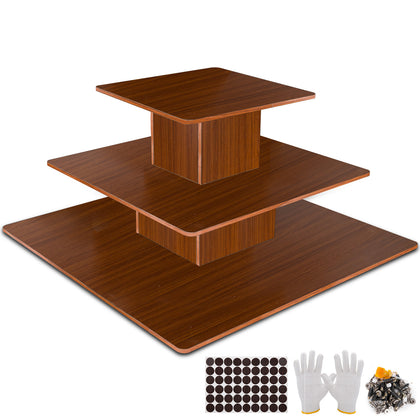 Goods Display Rack Mall Display Table Accessories Bags Shoes Display 3tier