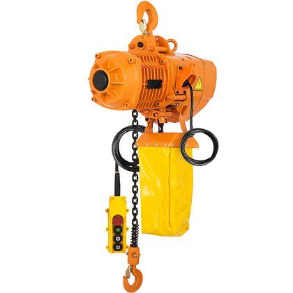 0.5t 1100lbs Electric Chain Hoist 1 Phase 110v Railway W/limit Switch Building