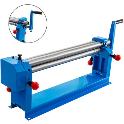 Rb-610 Manual Slip Roller 570mm Bending Round 1.2mm Steel Plate Rolling Machine