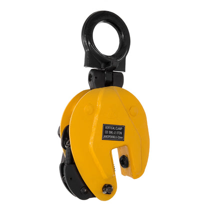 4400lbs Industrial Vertical Plate Lifting Clamp Lift 0-1inch Opening Heavy Duty