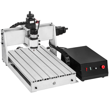 3 Axis Cnc Router 3040 Engraving Milling Machine Engraver 6061 Aluminium Alloy