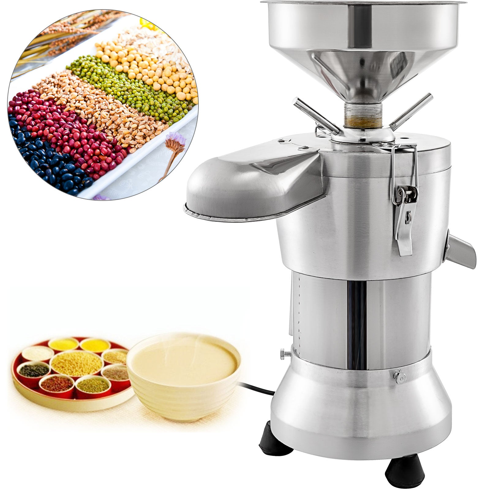 Soybean Grinding Machine Soymilk Machine Soy Bean Pulping Milk Machine 1100w
