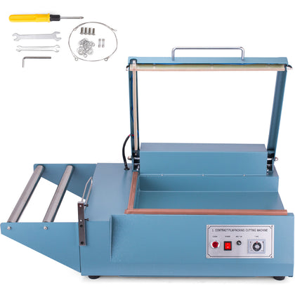 Fql-380 L-bar Sealer Cutter Packing Machine Stable Stainless Steel Factories