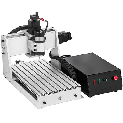 Cnc 3020 Router Engraver Milling Machine 4 Axis Woodworking Chrome Cutter Usb