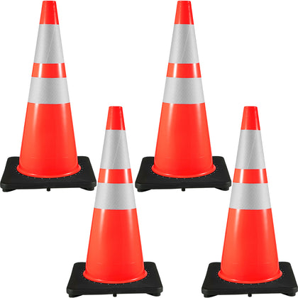4 Traffic Safety Cones 28
