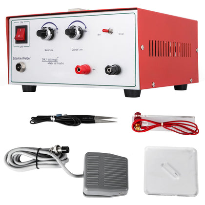 Jewelry Welding Machine 400w 80a Electric Pulse Sparkle Spot Welder Machine 110v