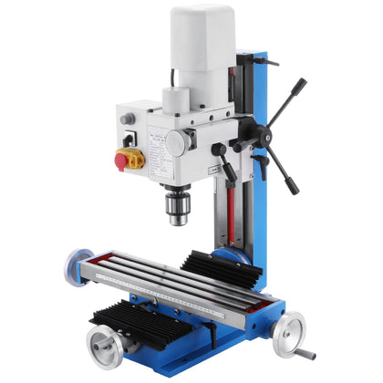 110v Mini Milling Drilling Machine 9512 Vertical Bench 550w Variable Speed Mt3