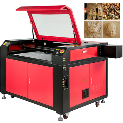100w Co2 Laser Engraving Cutting Machine Carving Tool Engraver 900x600mm U-flash