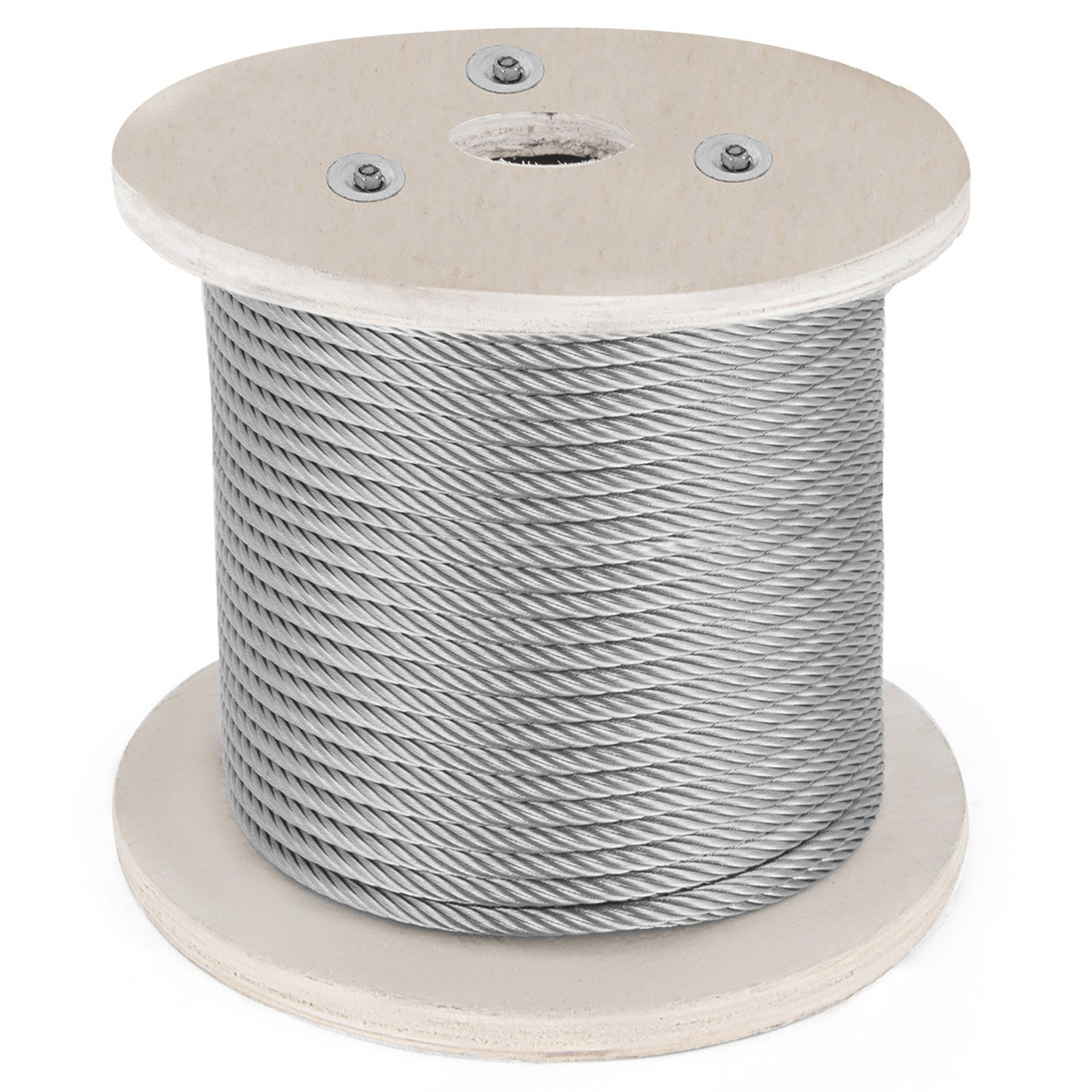 Cable Railing 316 Stainless Steel Wire Rope Cable 100ft 3/16 1x19