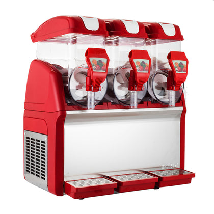 45l Slush making machine Drink slushy smoothie Maker Coffee Red 110v