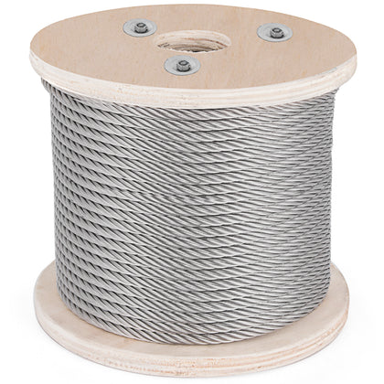 T304 Stainless Steel Cable Wire Rope,3/8