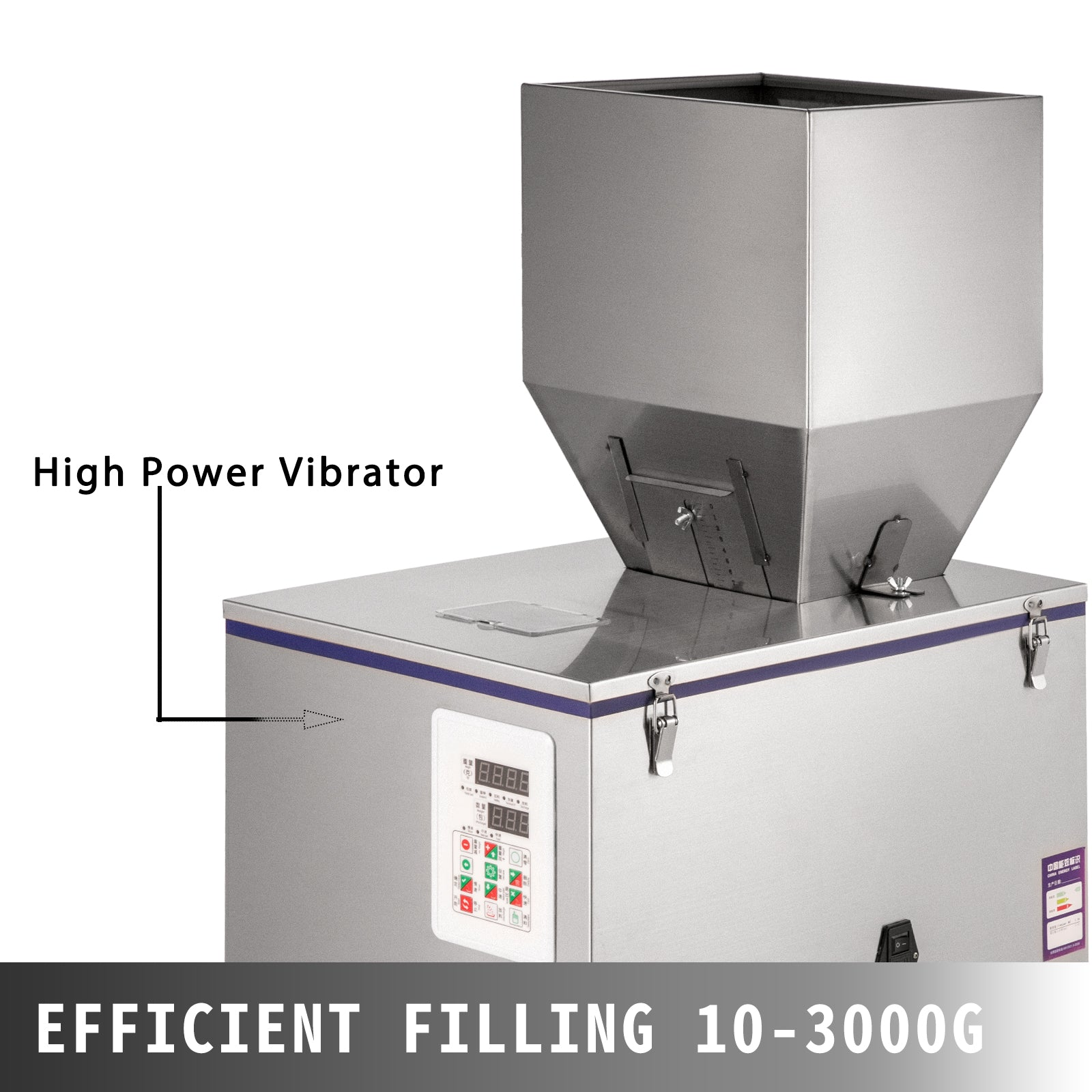 10~3000g Automatic Powder Racking&filling Machine Weigh Filler For Seed/grain