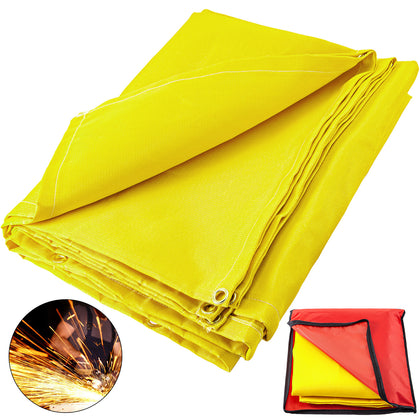 Welding Blanket Fiberglass Blanket 8 X 10 Ft Fire Retardant Blanket Golden
