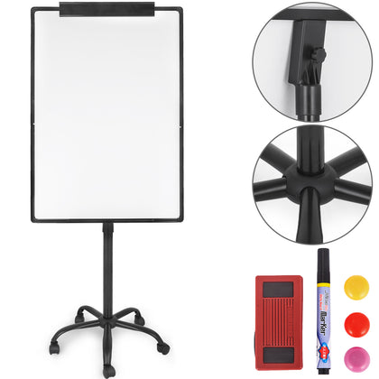 Office School Mobile Whiteboard Wheels With Stand 29