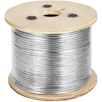 Cable Railing 1000ft Stainless Steel Wire Rope 1/8