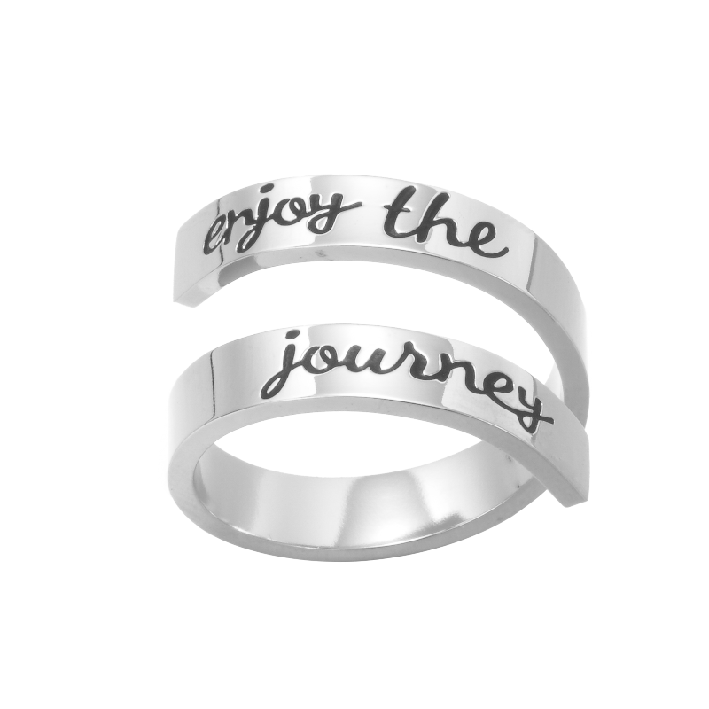 ENJOY THE JOURNEY RING