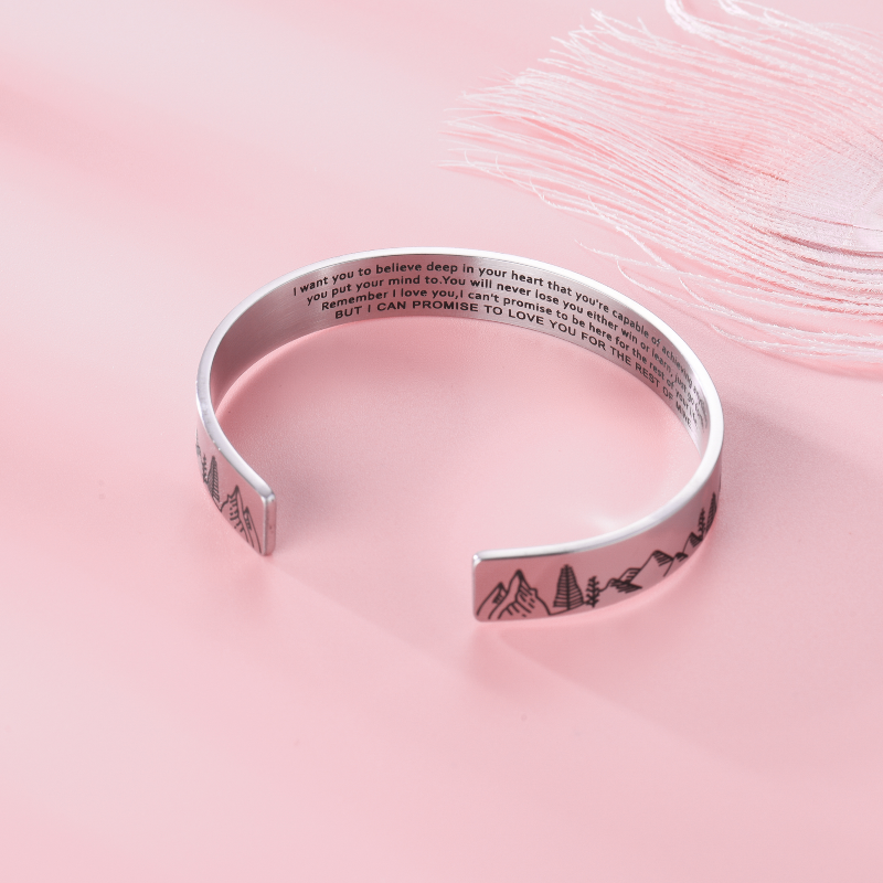 Promise to love you bracelet