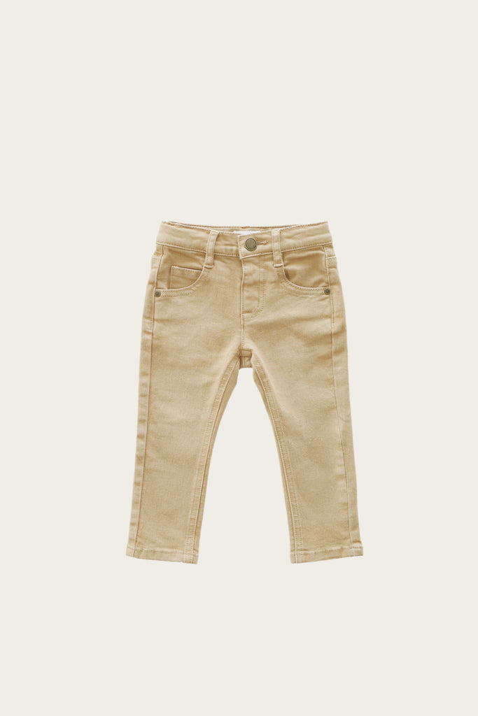 Slim fit jean- barley