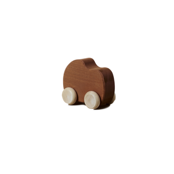 Wooden shape toy cars