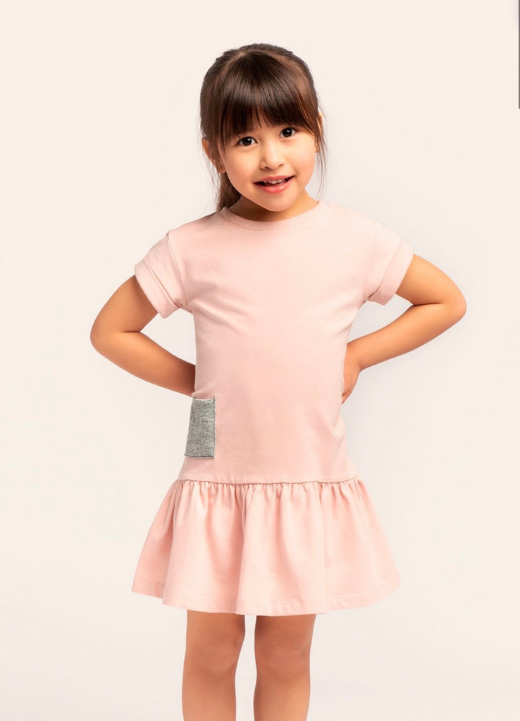 ''MILES BASIC'' LIGHT PINK DRESS