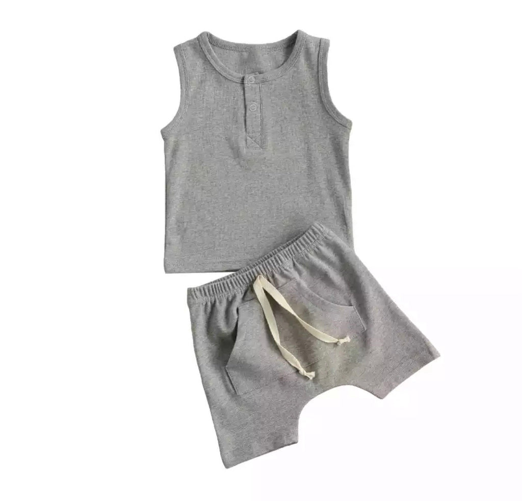 Two piece set (grey)