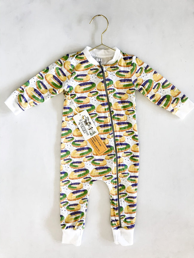 I got the baby zipper jammie