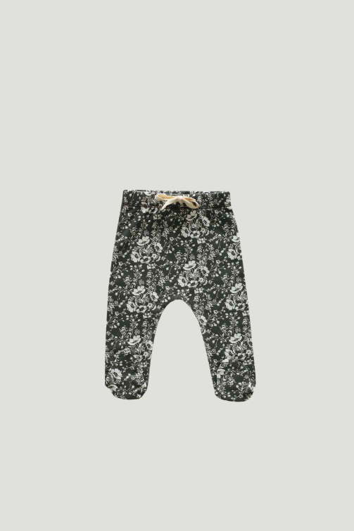Organic Cotton Footed Pant - Emme Floral