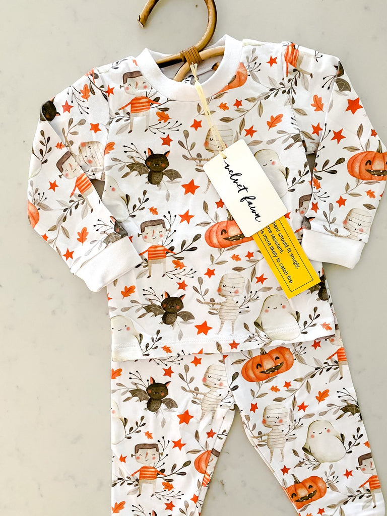 Trick or treat 2 pc jammie