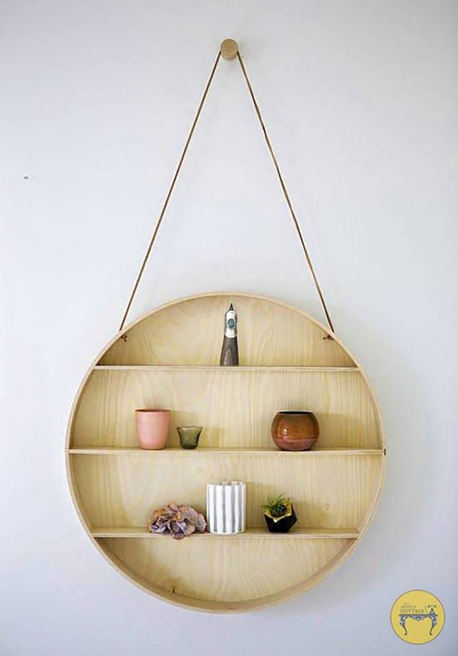 Round Shelf Wall Hanging