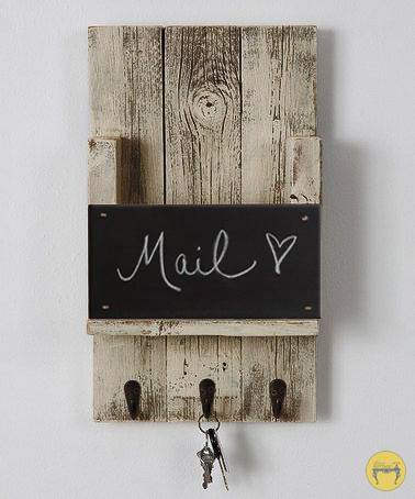 Wall Mail Holder