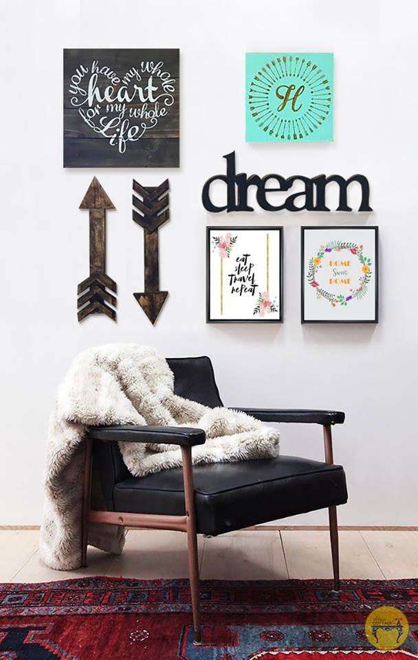 Gallery Wall- Dream
