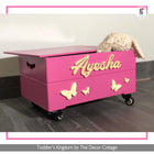 Butterfly Toy Box on wheels