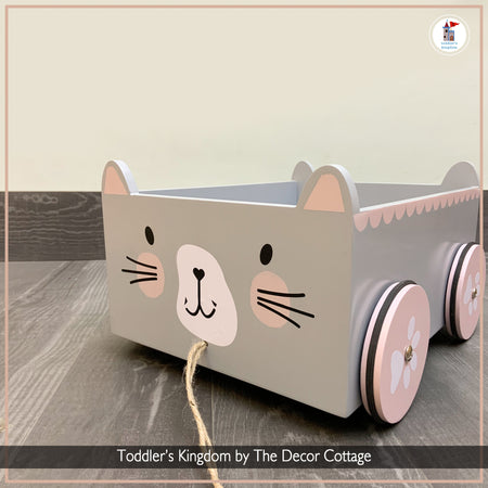 The Meow Pull Cart