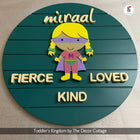 Superwoman Mascot Name Sign