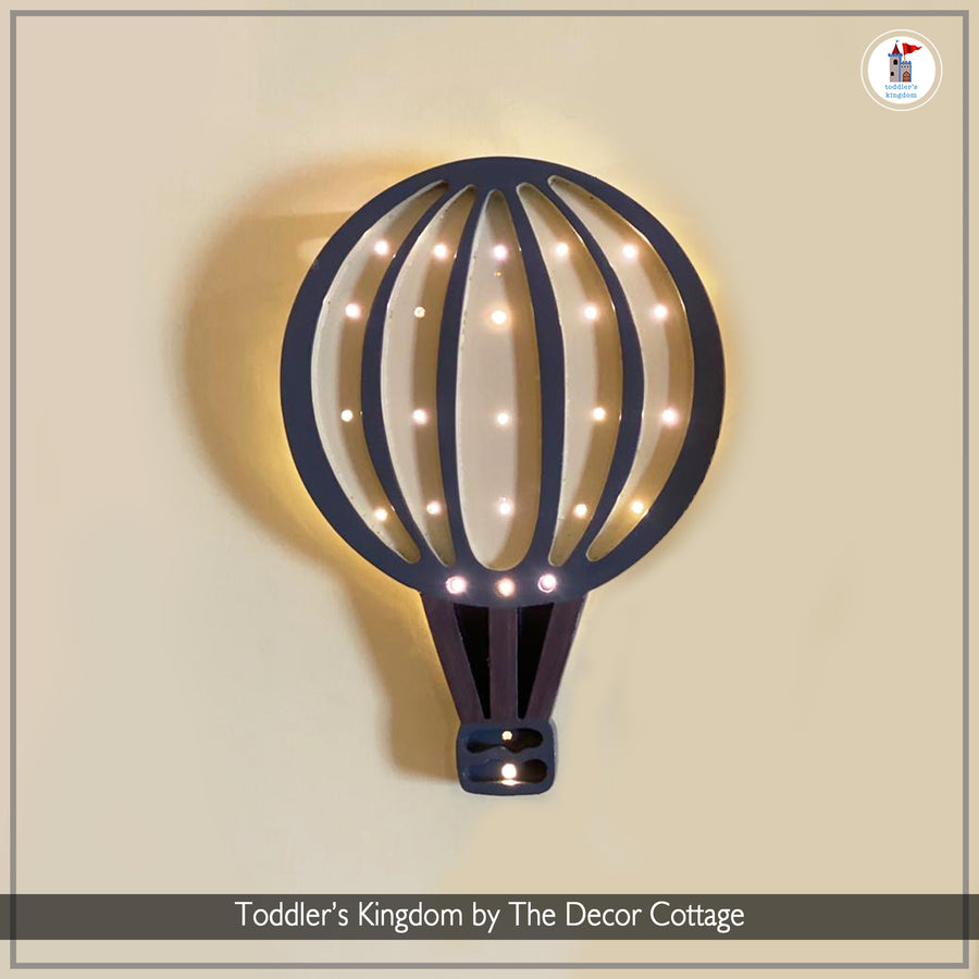 LED Striped Hot Air Balloon