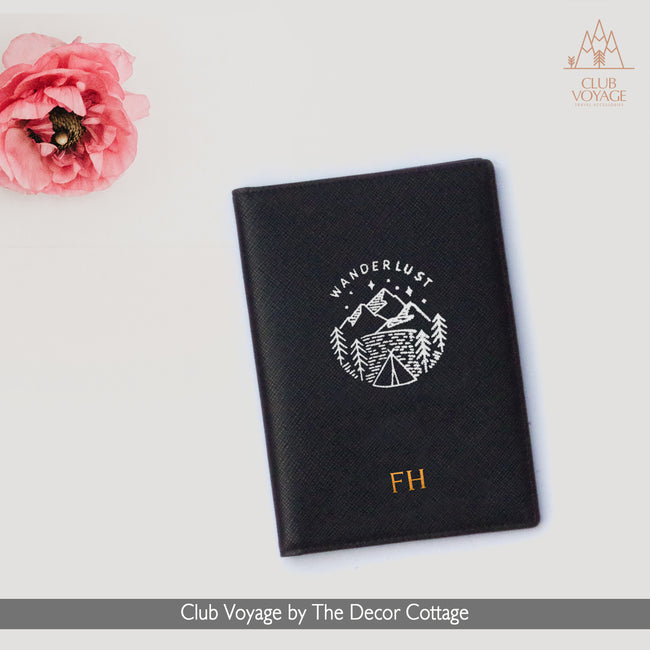 Passport Holder - Wanderlust Design