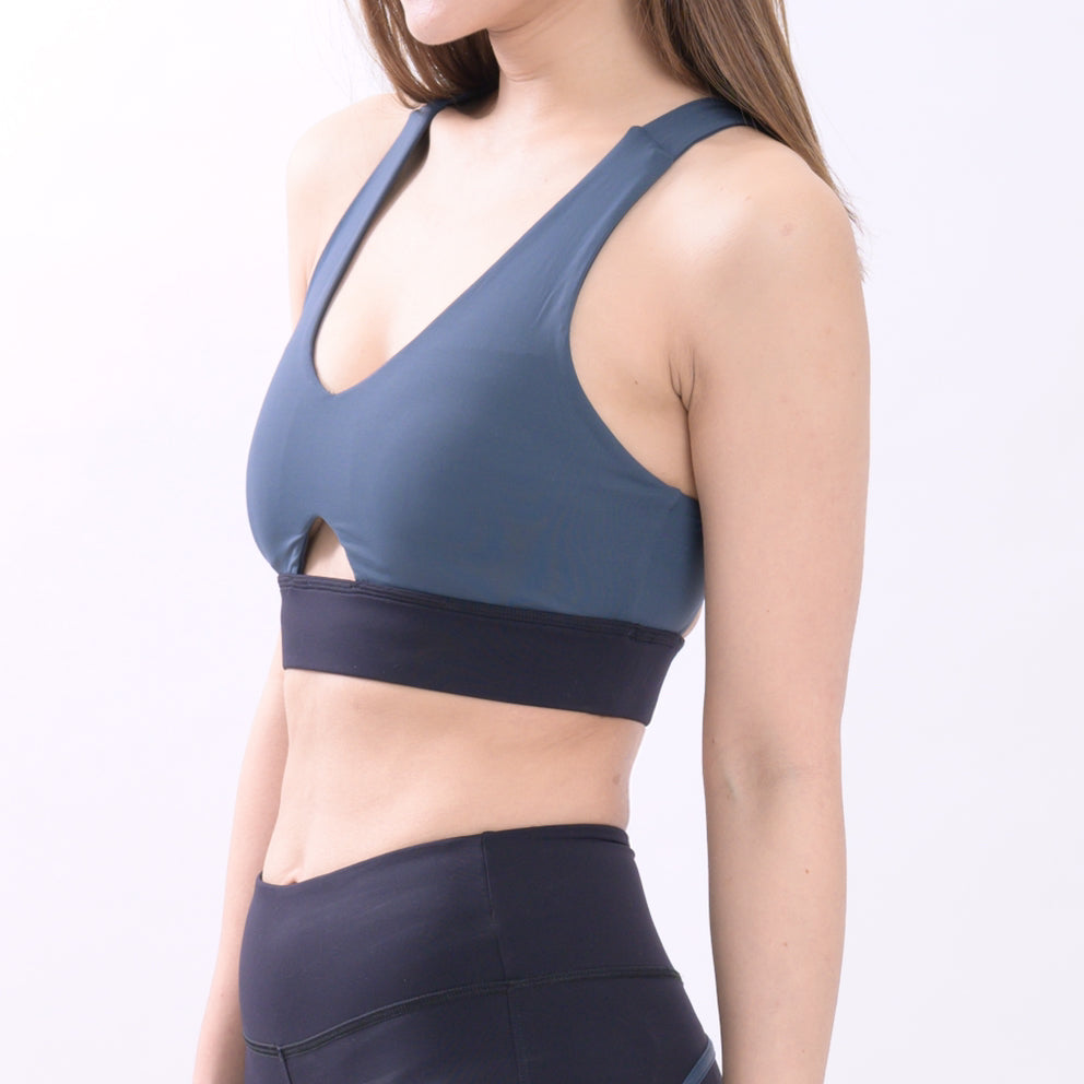 Blue Moonstone Cut-out Bra Top