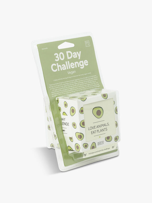 DOIY 30 Day Challenge Vegan
