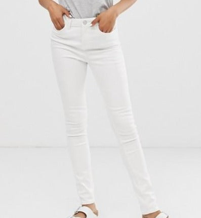 WAVEN White Classic Skinny Jeans