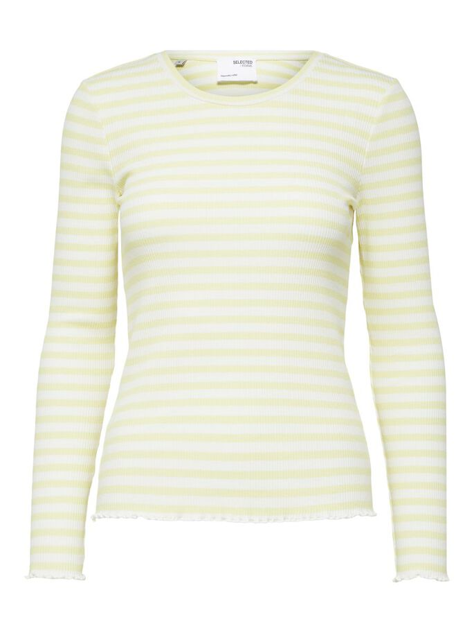 Selected Femme Anna Long Sleeve Tee