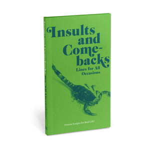 Knock Knock Insults & Comebacks Book
