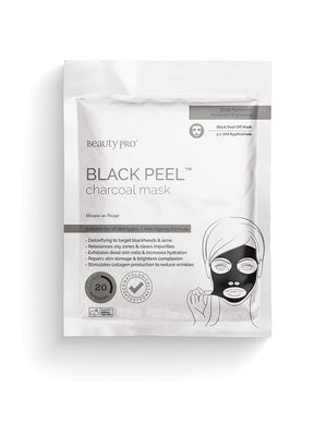 BeautyPro BLACK PEEL Charcoal Mask