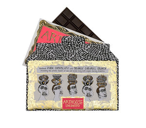 Arthouse Unlimited Figureheads Dark Chocolate with Orange Caramel Crunch