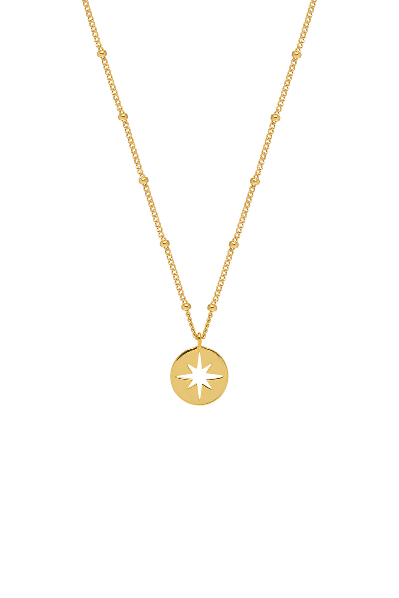 Estella Bartlett Starburst Cut Out Necklace