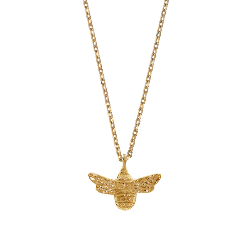 Estella Bartlett Gold Plated Bee Necklace