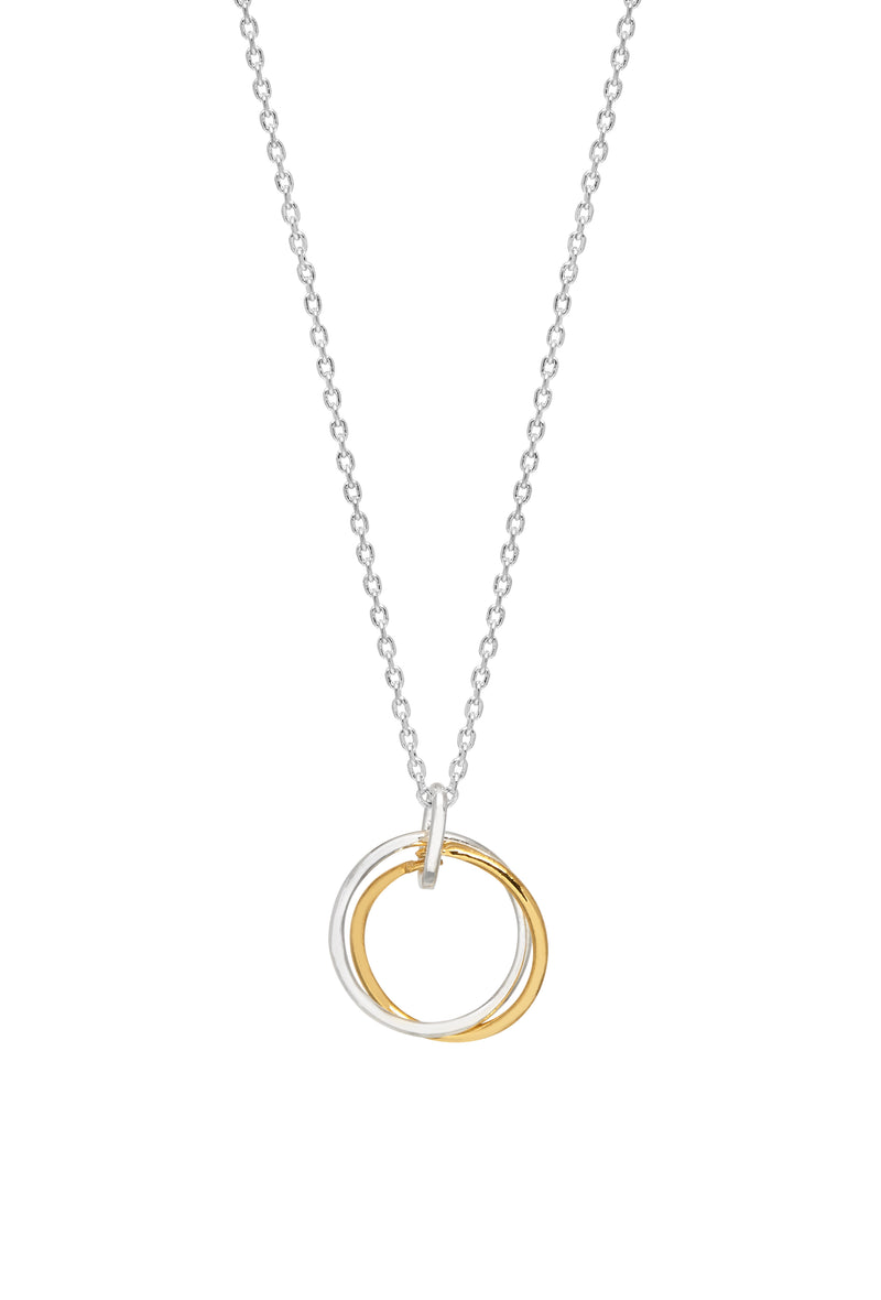 Estella Bartlett Linked Rink Necklace